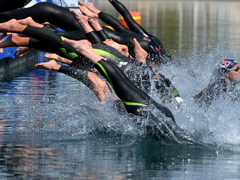 Overcome your fear of open-water swimming!
