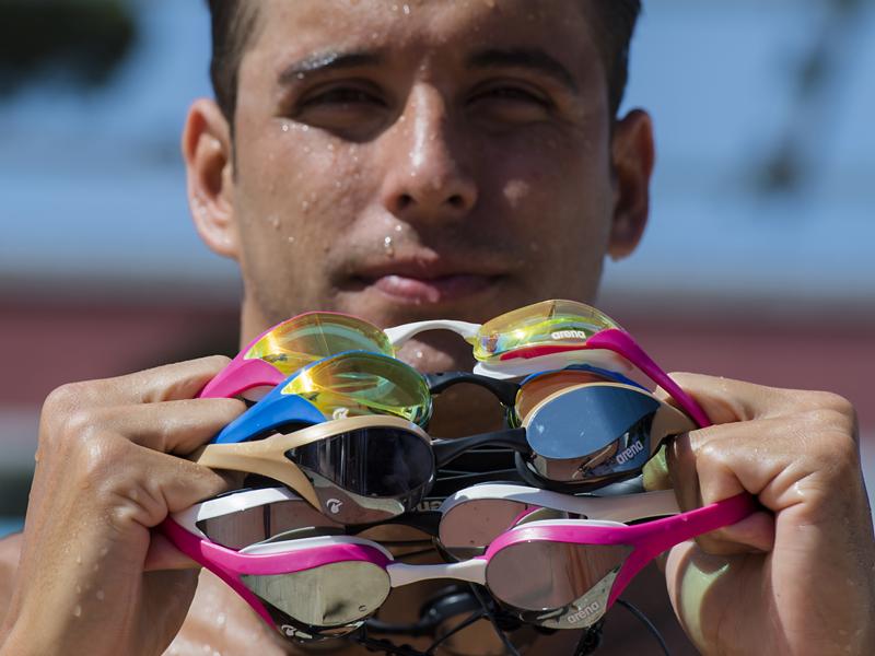 Chad Le Clos Cobra Ultra goggles