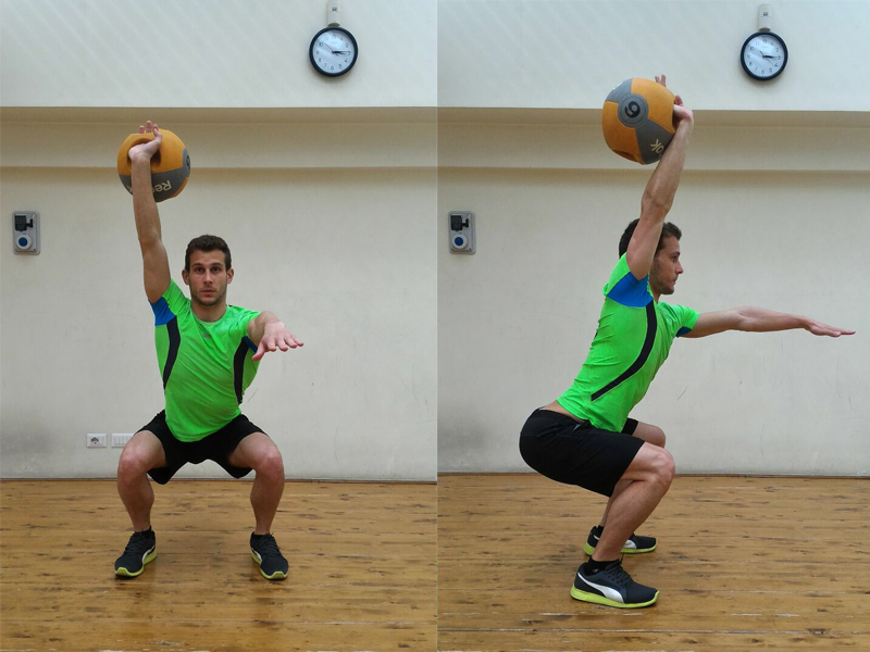 Using kettlebells for training out of the water