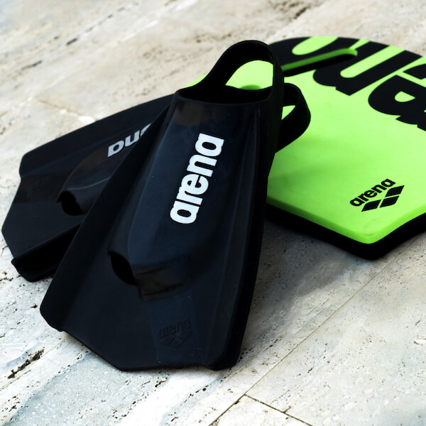 How to use a kickboard and fins